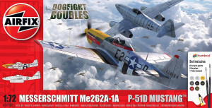 Me 262 & P-51D Mustang Dogfight Double Gift Set 1/72