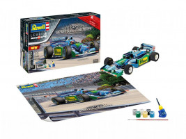 """25th Anniversary """"Benetton Ford"""" Gift-set 1/24"""