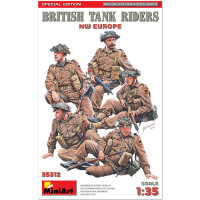 British Tank Riders (NW Europe). Special Edition 1/35