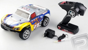 Himoto RC Short Course 4WD Brushless modrý 1/16 RTR
