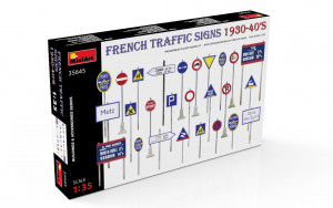 French Traffic Signs 1930-40s 1/35