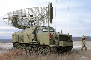 P-40/1S12 Long Track S-band acquisition radar 1/35