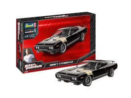 Fast & Furious - Dominic's 1971 Plymouth GTX Model Set 1/24