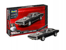 Fast & Furious - Dominic´s 1970 Dodge Charger Model Set 1/25