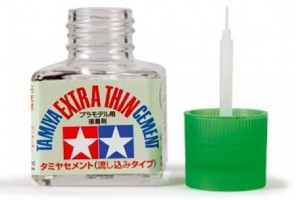 Lepidlo Tamiya Extra Thin Cement so štetcom 40ml