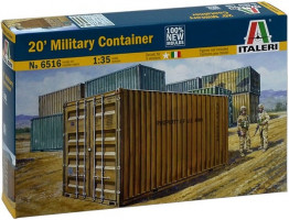 20´ military container 1/35