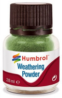 Humbrol 05 Weathering Powder Chrom oxid green - 28ml