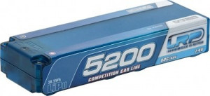 Akumulátor LRP LiPo Competition Car Line Hardcase 5200 - 80C/40C -7.4V