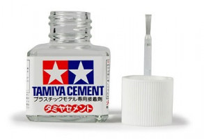 Lepidlo Tamiya Cement so štetcom 40ml