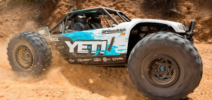 Axial RC Yeti Rock Racer 4WD biely 1/10 RTR
